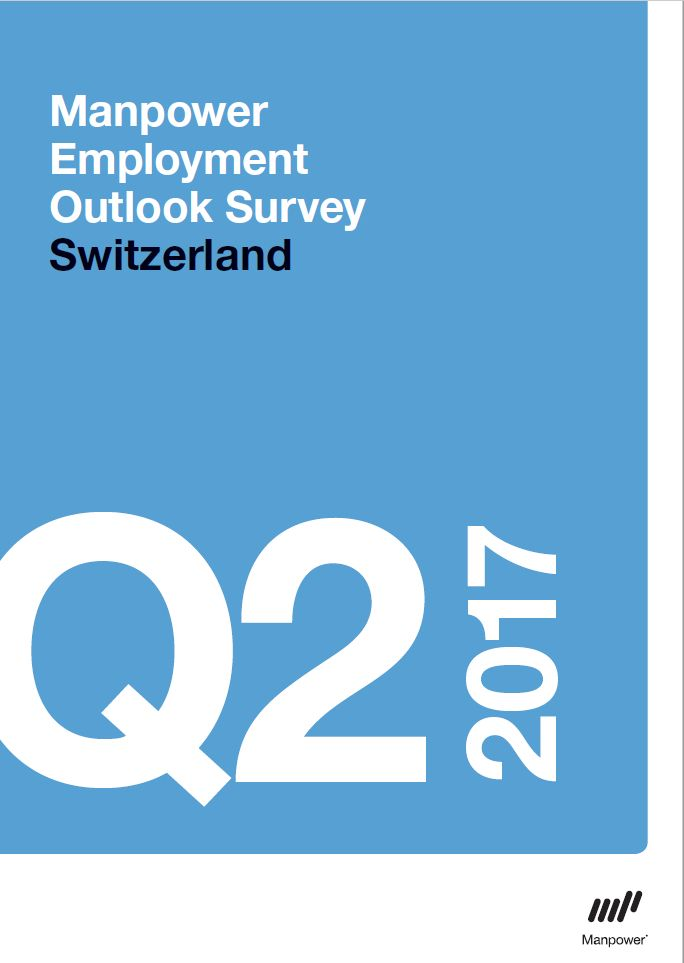 2Q17 Manpower Switzerland Employment Outlook SurveyCover