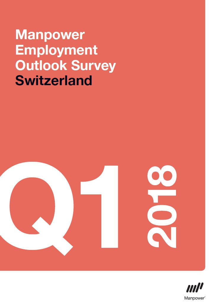Manpower Switzerland Employment Outlook Survey