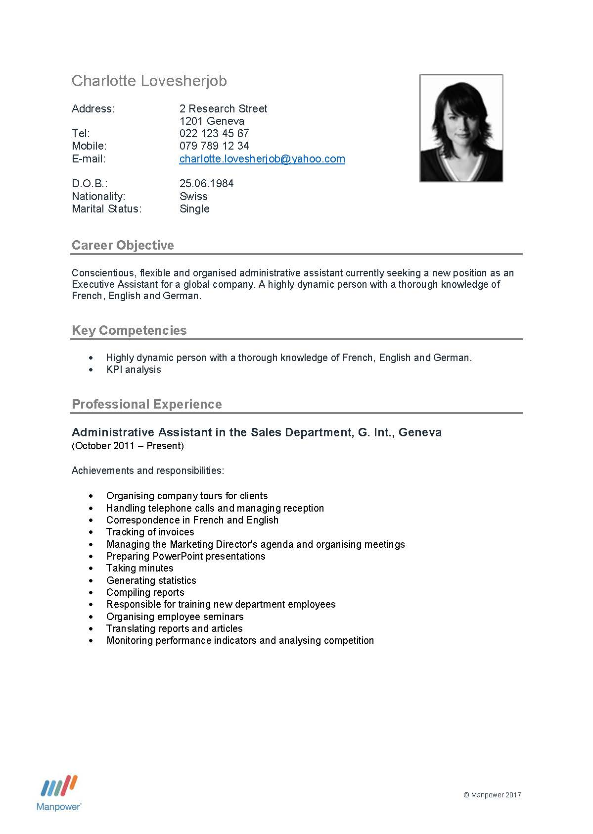 how can you make your cv stand out