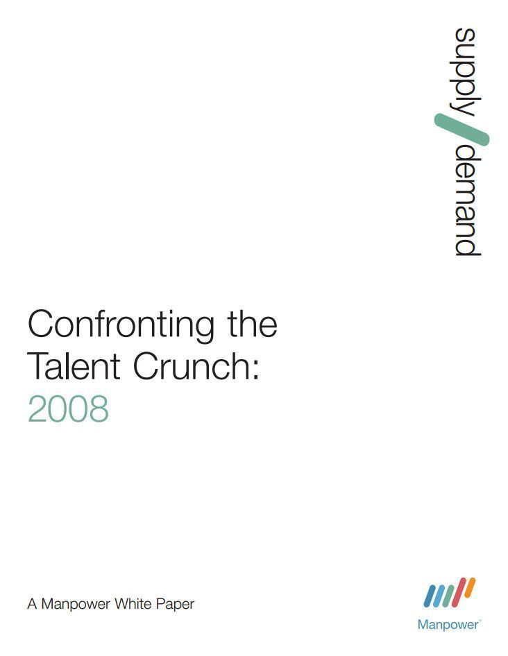 Talent shortage 2008