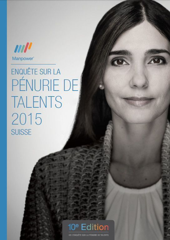 Couverture pénurie de talents 2015